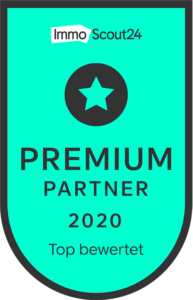 Siegel Immoscout 2020 Premium Partner