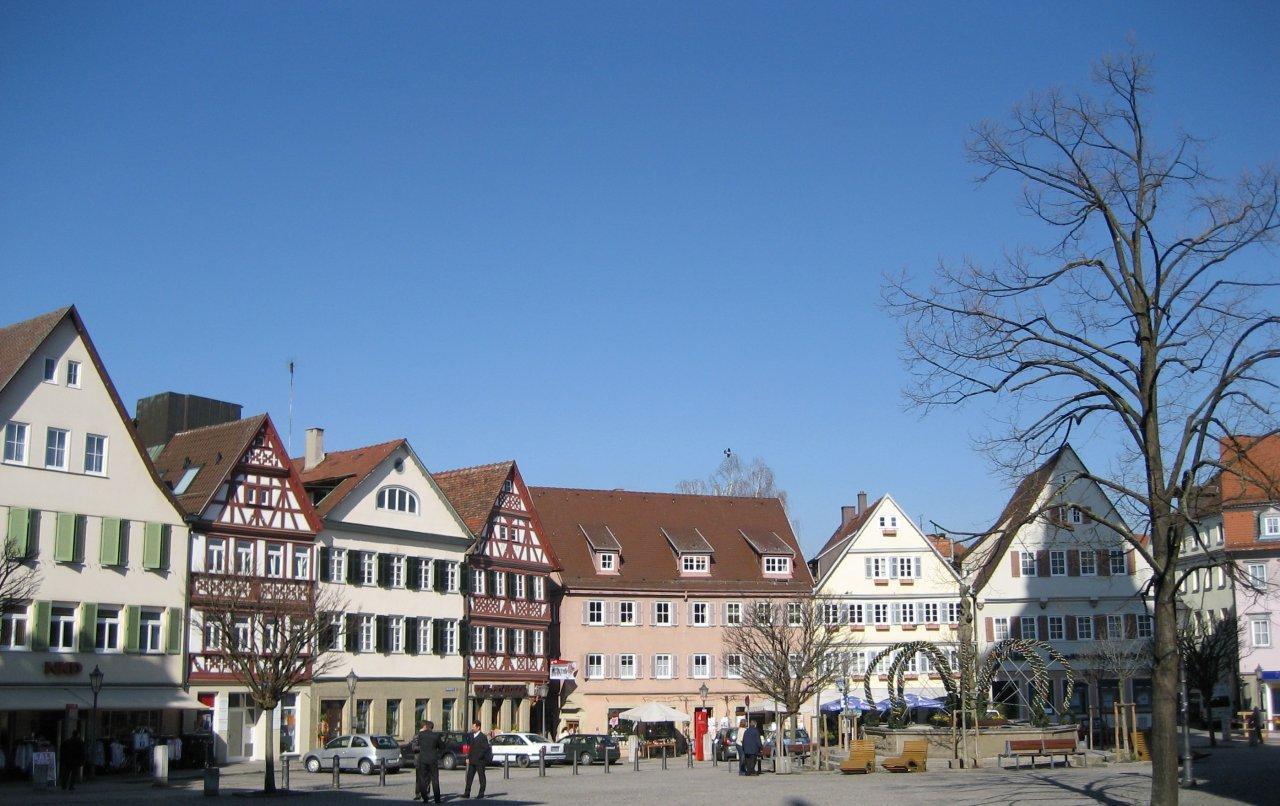 Öhringen Marktplatzansicht